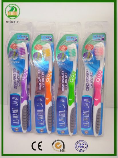 Double Shiny Card, Strong Handles High Quality Adult Toothbrush
