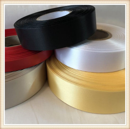 Double Face IVORY 100/% Polyester Satin Ribbon Assorted Sizes