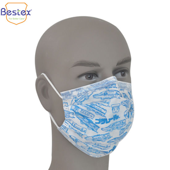Mask Face 2 Earloop With Level Astm F2100