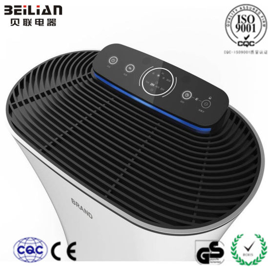New Designed Air Purifier with Dust Sensor From Beilian pictures & photos