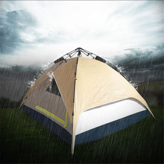 Popular Practical Double-Skin C&ing Tent for 4 Persons & China Popular Practical Double-Skin Camping Tent for 4 Persons ...