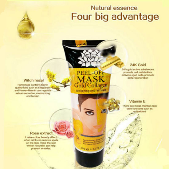 Skin Care Collagen Crystal 24K Gold Facial Mask