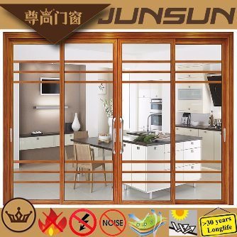 Roman Style Aluminium Sliding Door for Houses Decoration pictures & photos