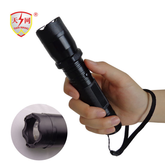 Brand Police Force Electric Shock Torch Stun Guns pictures & photos
