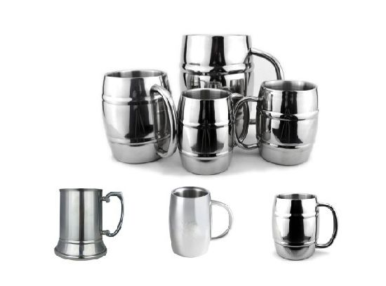 Double Wall Stainless Steelbeer Mug pictures & photos