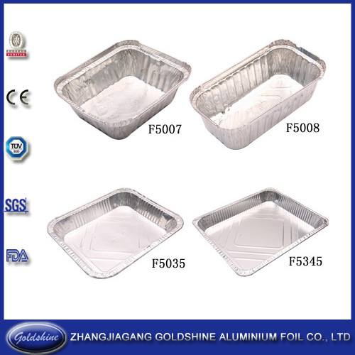 Disposable Healthy Food Use Aluminum Tray Size pictures & photos