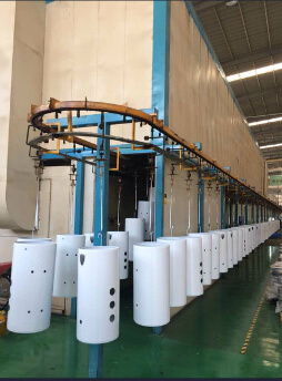 Automatic Powder Coating Spraying Line pictures & photos
