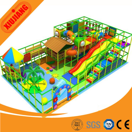 Children Playground Indoor, New Design for Kids Play Games (XJ1001-5346)