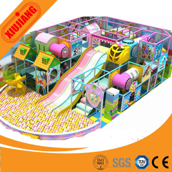 Amusement Park Children Indoor Playground Equipment (XJ1001-52050)