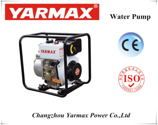 Yarmax Strong Power Air Cooled Diesel High Pressure Water Pump pictures & photos