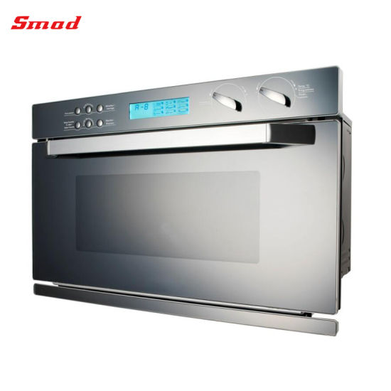 17L 20L 23L Domestic Use Built In Microwave Oven With Mirror Glass Door