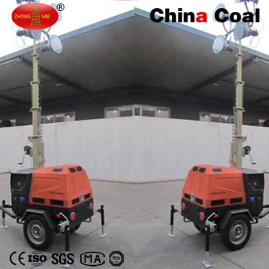 China Mo-5659 High Mast Mobile Power Flood LED Lighting