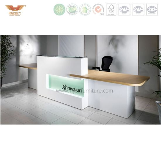 China Cheap Office Front Counters Table Office Reception Desk