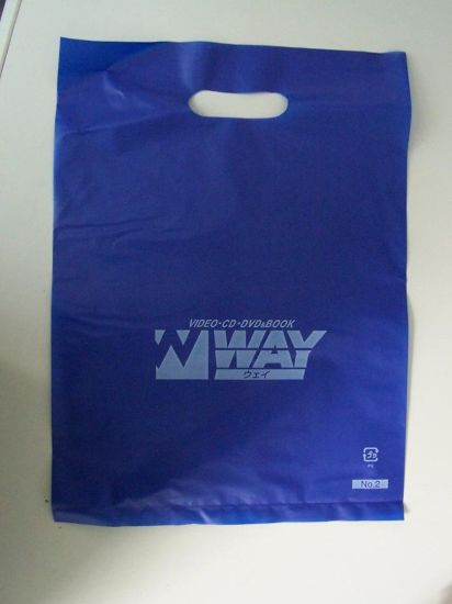 Plastic Shopping Bags with Handle and Custom Logo pictures & photos