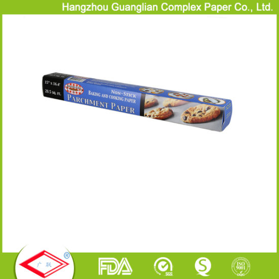40GSM Silicone Baking Parchment Paper Roll for Supermarket