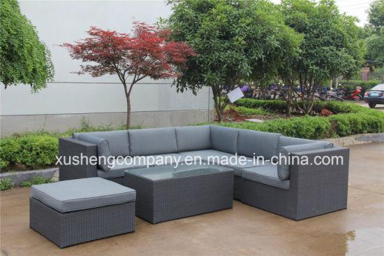 Garden Patio Rattan Outdoor Lounge Office Hotel Home Corner Sofa