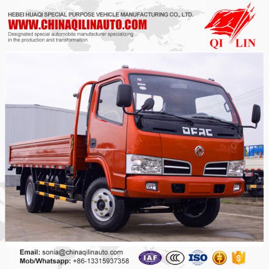 05cf2013ef China Dongfeng Brand 6 Wheeler Dropside Cargo Truck - China Dropside ...
