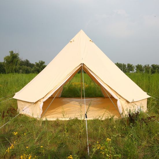 huge discount 2d2e8 2f03c China Outdoor Camping Teepee Yurt Glamping Tent Cotton ...