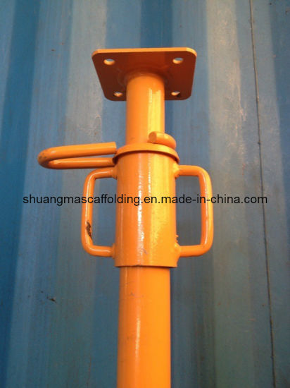 Construction Vertical Scaffolding Pipe Support Adjutable Steel Props