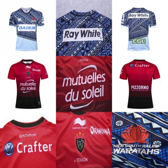 6c80440e083 China Cheap 2017 2018 New South Wales Waratahs Toulon Rugby Jerseys ...