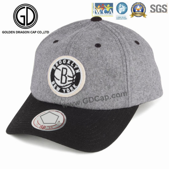 China OEM Fashion Cool Comfortable Baseball Cap with Special Badge ... 97fd75b94d2