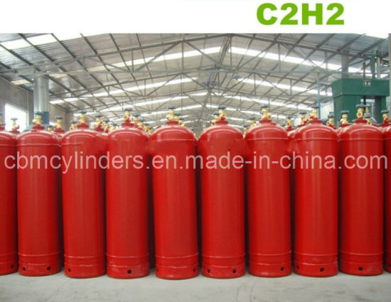 China 35L Acetylene Cylinders with Cylinder Safety Valve
