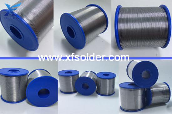 Sac305 Lead-Free Alloy 96.5 % Tin 3% Silver and 0.5% Copper Solder Wire