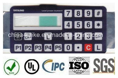 Polydome Membrane Switch, Uses Silkscreen Printing