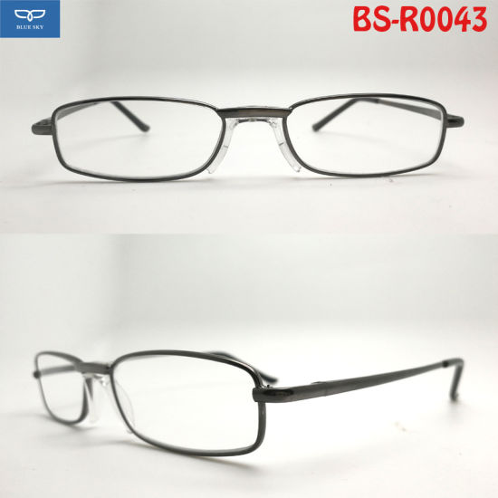 47dd6661659 Hot Selling New Design Full Frame Reading Glasses Frame Metal Spectacles  Good Quality for Men Cheap Price