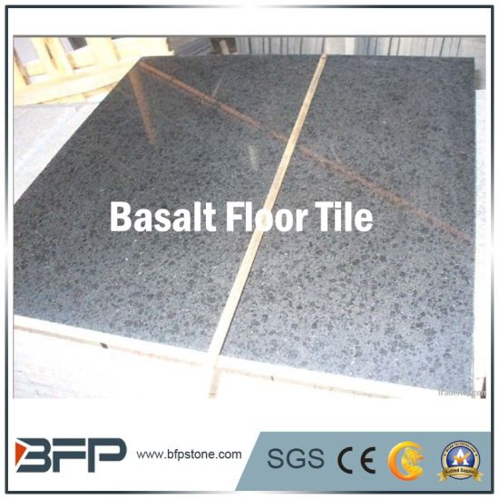 Polished/Flamed Stone Basalt Floor Tile for Flooring/Wall/Landscape pictures & photos