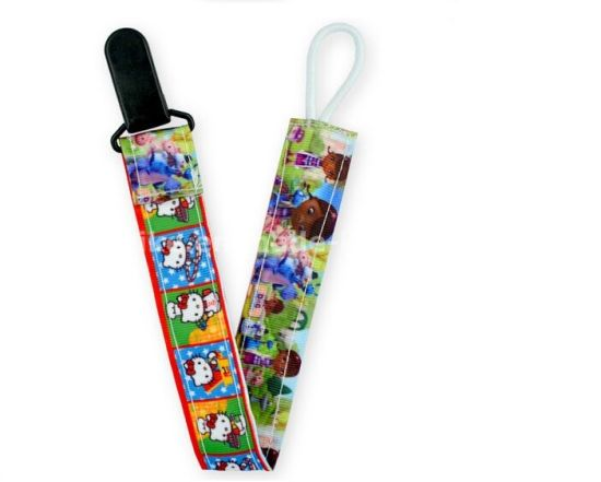 plastic Clip Character Ribbon dummy clips
