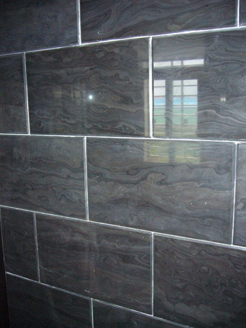 Black Wood Grainy Marble Slab for Countertop, Walling, Flooring pictures & photos