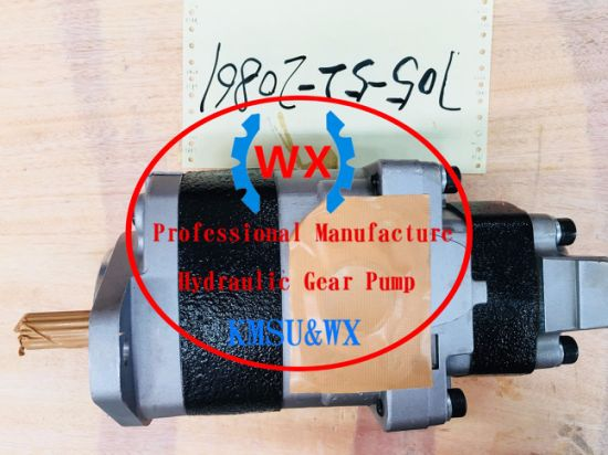 China Komatsu Part No: 705-52-20861hydraulic Gear Pumps Oil Pumps