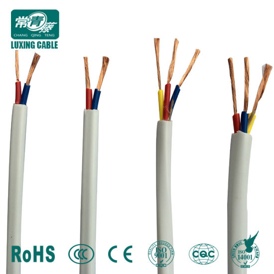 Enjoyable China White Or Black Flexible Cable 3 Core 0 75Mm 1Mm 1 5Mm 2 5Mm Wiring Cloud Staixuggs Outletorg