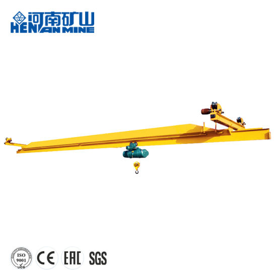 Lx Model Single Girder E. O. T Suspension Overhead Crane 0.5~10ton