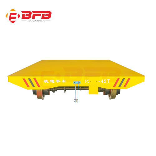 Four-Wheel Rail Transfer Cart Powered by Battery (KPX-6T) pictures & photos