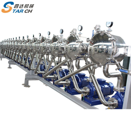 China Good Price Cassava Production Machine for Extraction