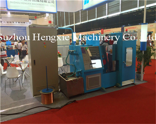Hxe-24dt Copper Wire Drawing Machine with Annealing pictures & photos