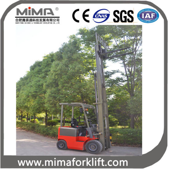 Hot Sale 2000kgs Electric Forklift Truck pictures & photos