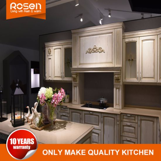 Solid Wood Flat Pack Rta China Factory Directly Kitchen Cabinets ...