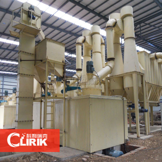 China Mining Machinery Gypsum Grinding Mill Plant in India - China