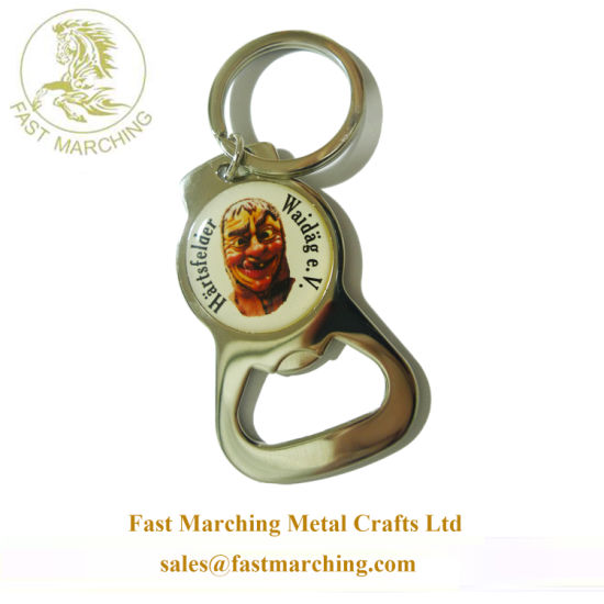 Custom Picture Printing Bottle Opener Parts Awards Cool Keychains pictures & photos