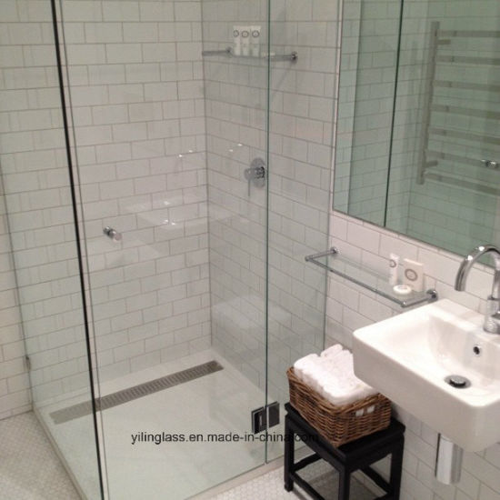 Tempered Shower Screen Glass with Precise Hole Slot pictures & photos