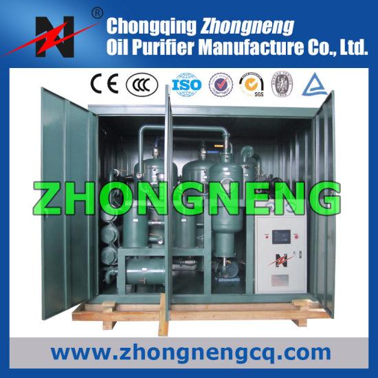 High Vacuum Transformer Oil Regeneration Purifier/ Insulation Oil Recycling Plant/