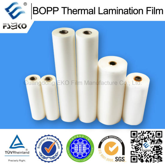 Non Solvent Pollution BOPP Thermal Laminating Film pictures & photos