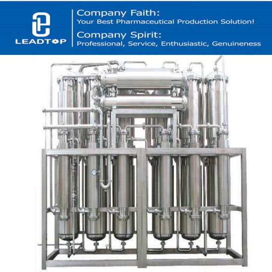 Water Treatment Pharmaceutical Injectable Water Plant