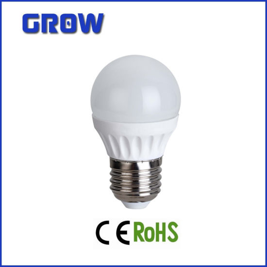 4W G45 E27 with CE RoHS LED Bulb pictures & photos