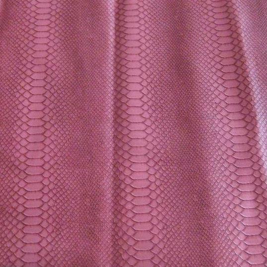 Snakeskin PVC Leather Cloth Mg8153