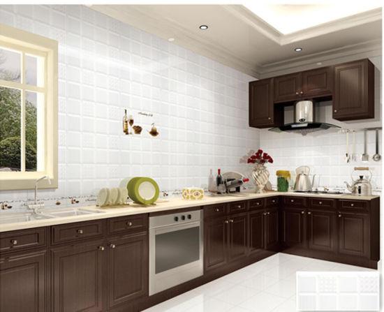China 300x600 White Modern Style Kitchen Decor Flooring Ceramic Wall Tile K63907x18 02313 China Glazed Ceramic Tile Ceramic Wall Tile