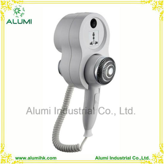 Wall Mounted Hair Dryer with 110V and 220V